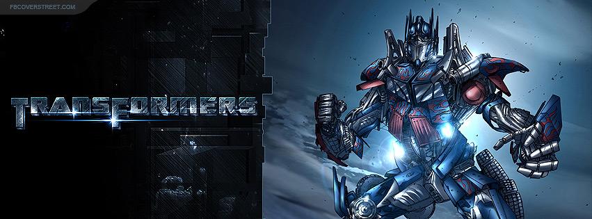 Transformers Optimus Prime Facebook cover