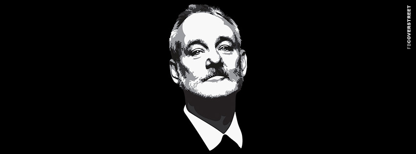 Bill Murray Portrait Simple  Facebook Cover