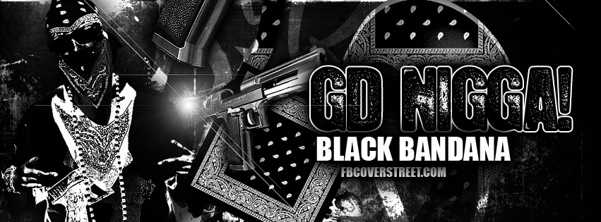 Gangster Disciple Black Bandana Facebook Cover