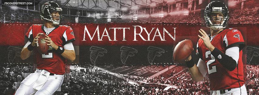 Matt Ryan Atlanta Falcons Quarterback Facebook Cover