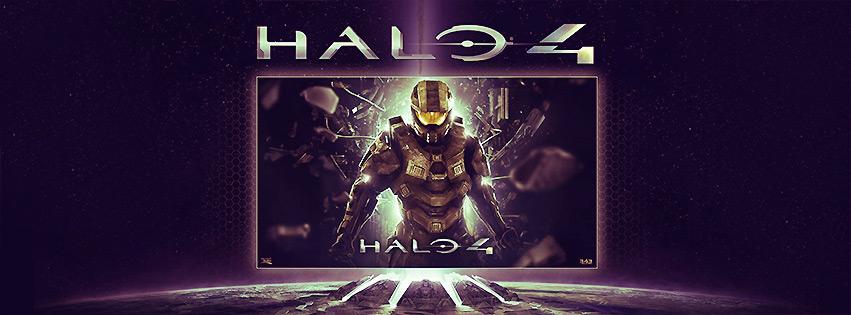 Halo 4 Facebook Cover