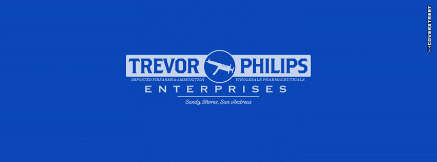 Trevor Philips Enterprises Logo GTA 5  Facebook cover