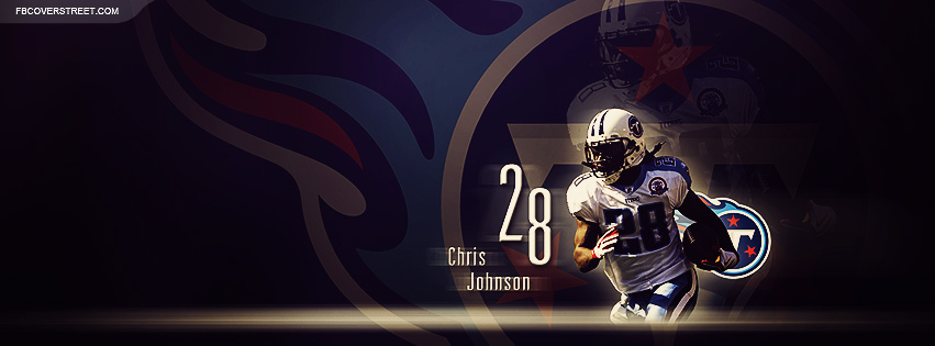 Chris Johnson Tennessee Titans 2 Facebook cover