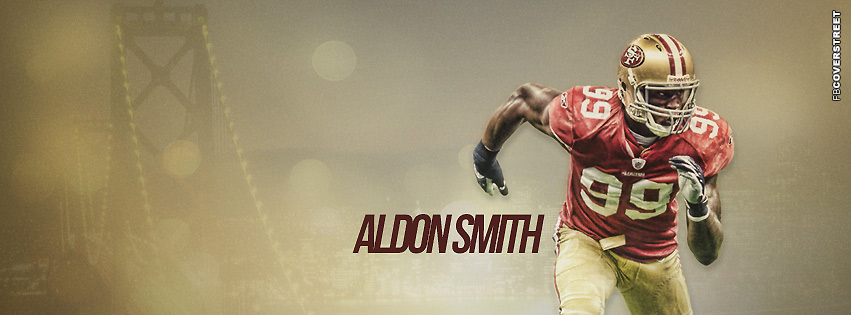 San Francisco 49ers Aldon Smith  Facebook cover