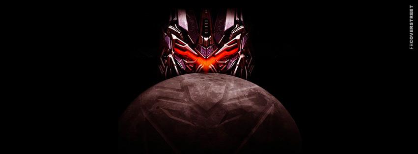 Transformers Dark of The Moon Minimal Movie Facebook cover