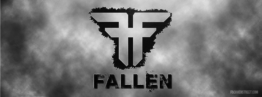 Fallen Destroyed Logo Facebook Cover