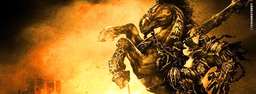 Darksiders II Video Game 2 Facebook cover