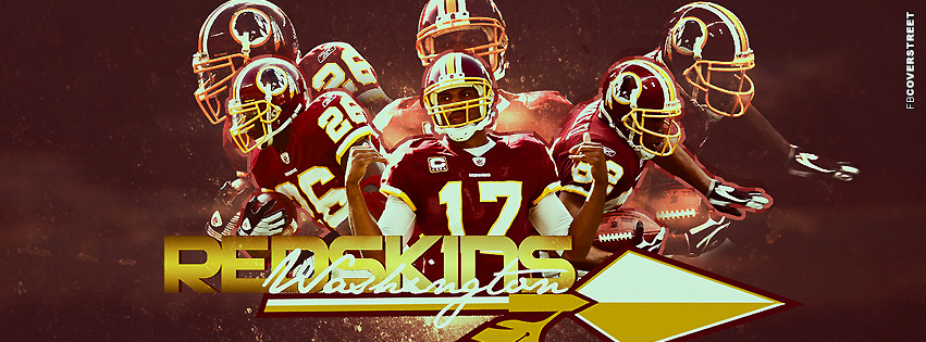 Washington Redskins Players NFL Facebook cover