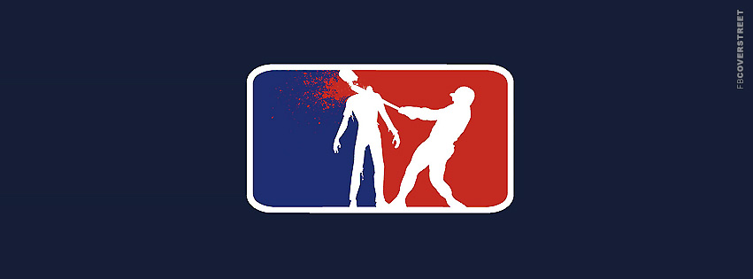 Zombie MLB Logo  Facebook cover