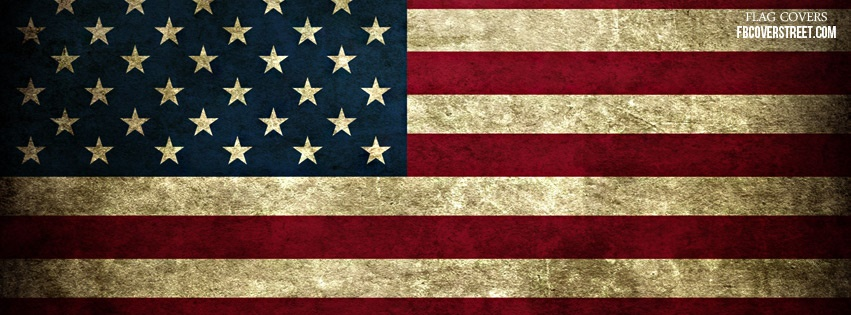 United States of America Flag Facebook Cover