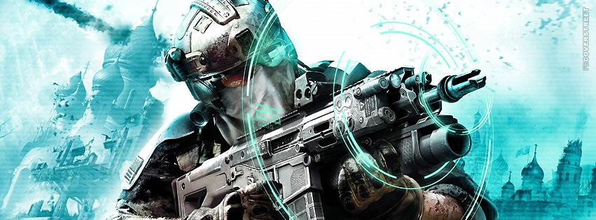 Ghost Recon Future Solider  Facebook cover