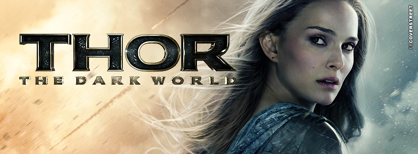 Jane Foster Thor The Dark World  Facebook Cover