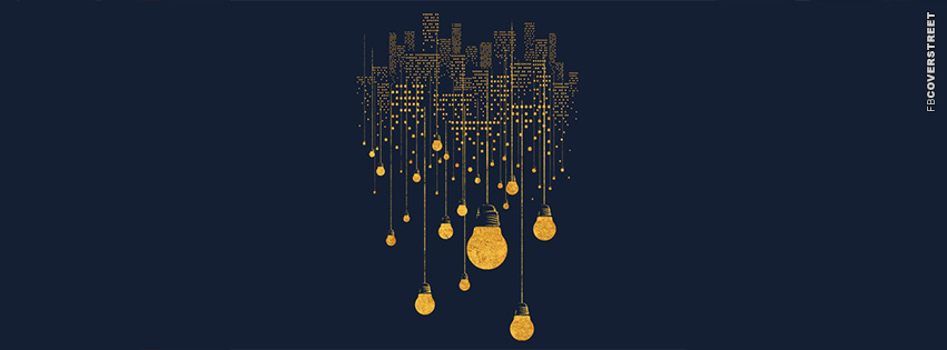 City Lights Minimal  Facebook Cover