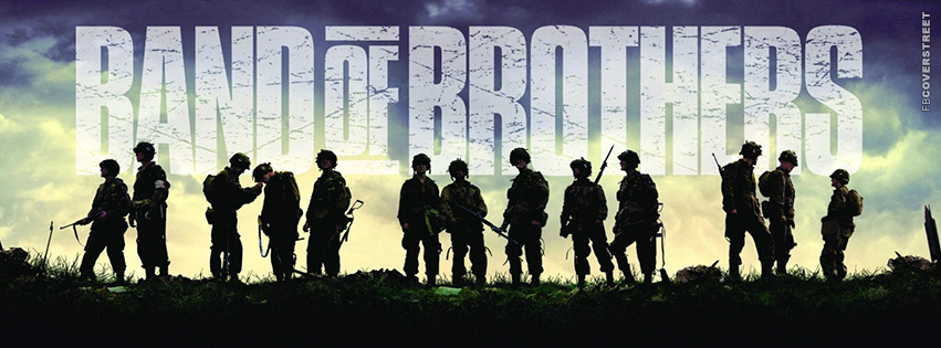 Band of Brothers TV Show TV Show Facebook Cover