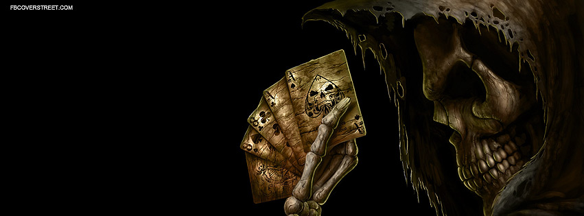 Death Reaper Cards Facebook Cover