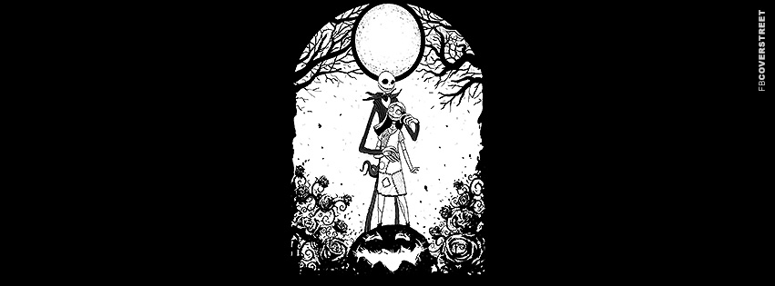 Nightmare Before Christmas Love Facebook Cover