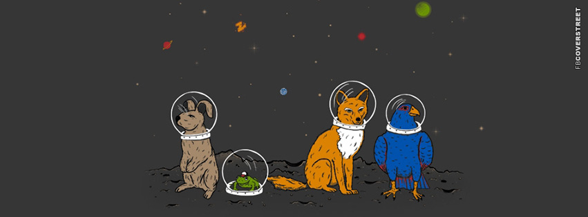 Space Animals  Facebook cover