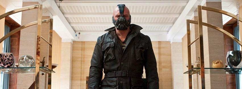 Bane Batman Dark Knight Rises Movie Facebook cover