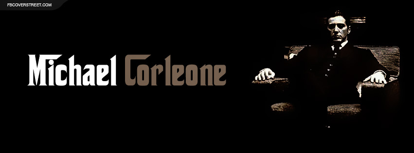 The Godfather Michael Corleone Facebook Cover ...