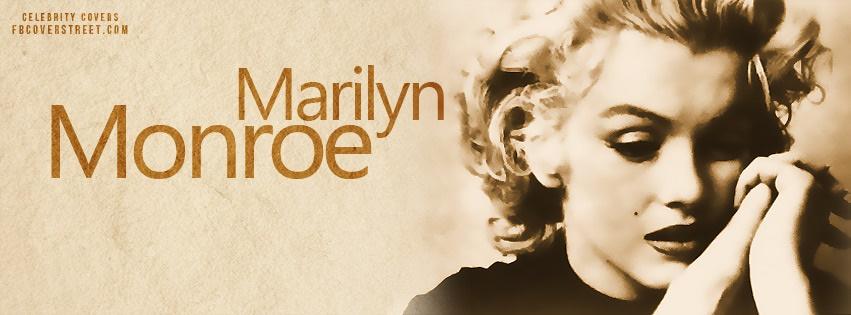 Marilyn Monroe Facebook Cover