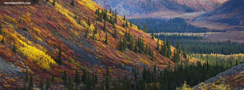 Autumn Mountain Slopes Facebook cover