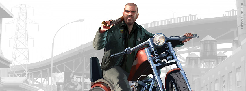 GTA IV Lost and Damned Johnny Facebook cover