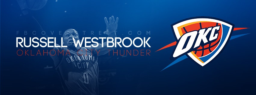 Russell Westbrook Oklahoma City Thunder Logo Facebook cover