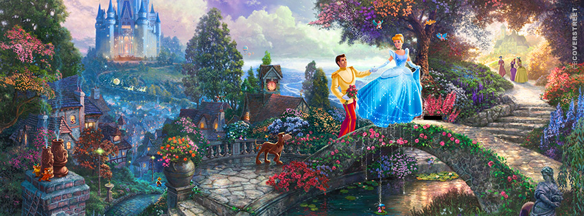 Cinderella Amazing Artwork Facebook Cover - FBCoverStreet.com