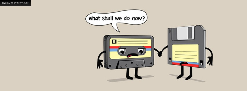 Neglected Cassettes and Floppy Disks  Facebook cover
