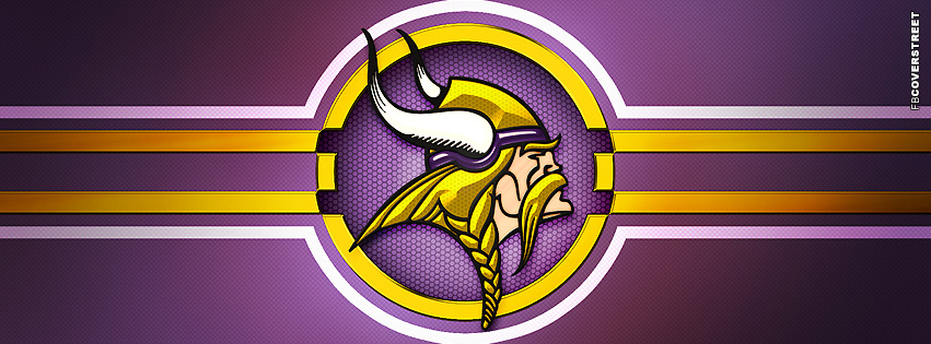 Minnesota Vikings Modern Logo Facebook Cover