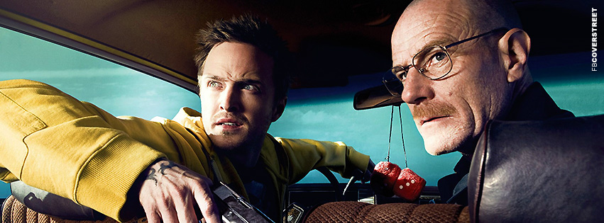 Breaking Bad Jesse and Walt Facebook Cover