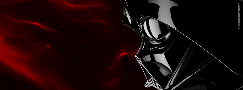 Darth Vader Star Wars Red Galaxy Facebook Cover