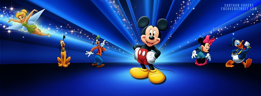 Mickey Mouse Facebook Covers - FBCoverStreet.com