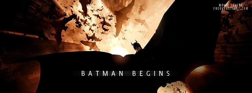 Batman Begins Facebook Cover