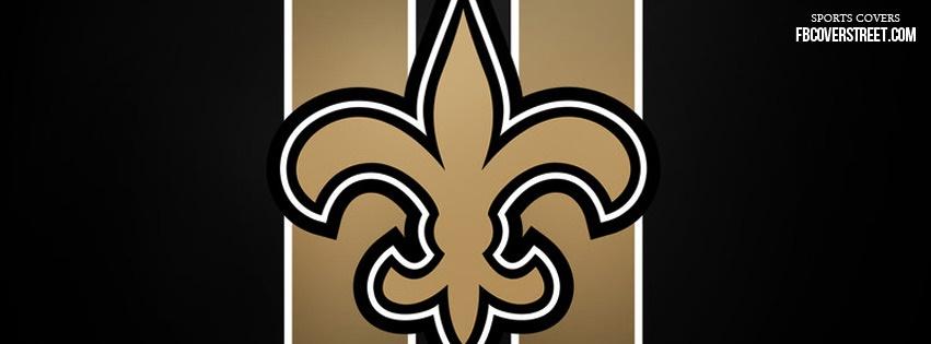 New Orleans Saints Logo 1 Facebook Cover Fbcoverstreet