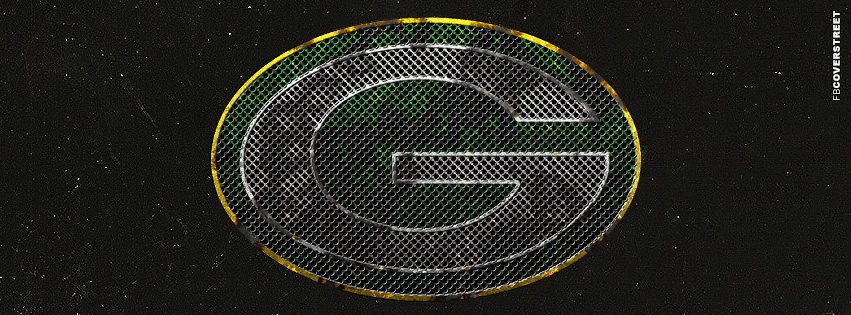 Green Bay Packers Dirty Logo Facebook cover