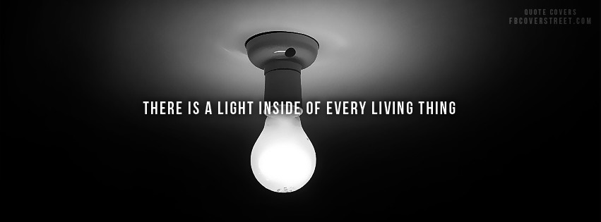 Light Inside Every Living Thing Facebook Cover