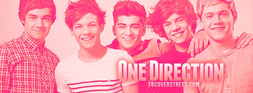 One Direction 3 Facebook Cover - FBCoverStreet.com