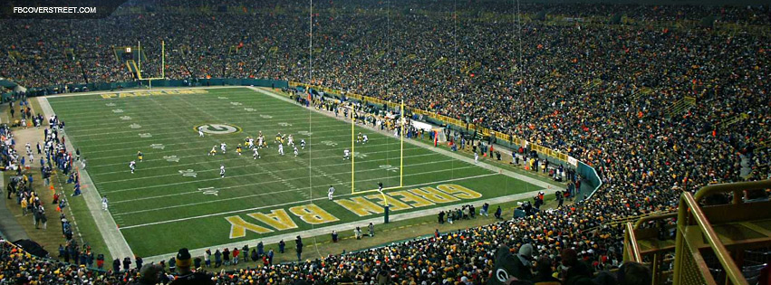Lambeau Field Green Bay Packers 2  Facebook cover
