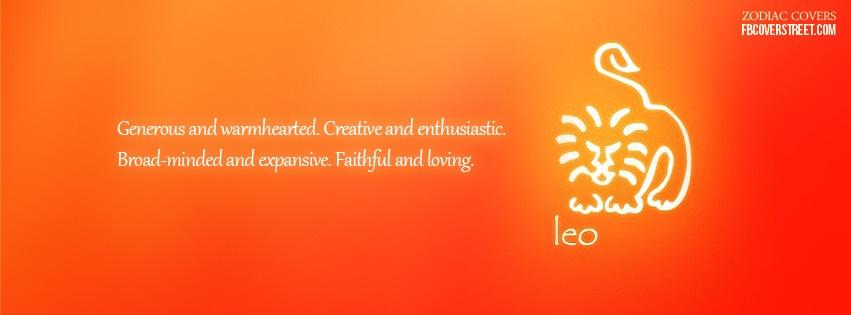Leo 3 Facebook Cover