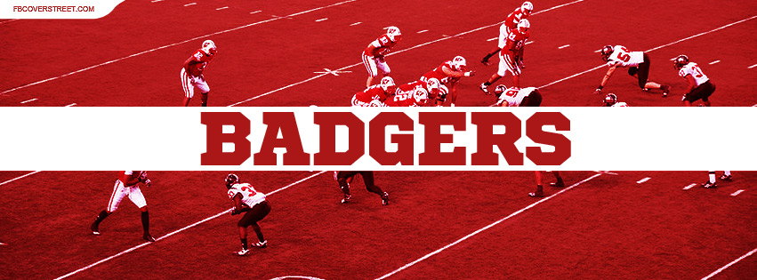 University of Wisconsin Badgers Game Photo Facebook cover