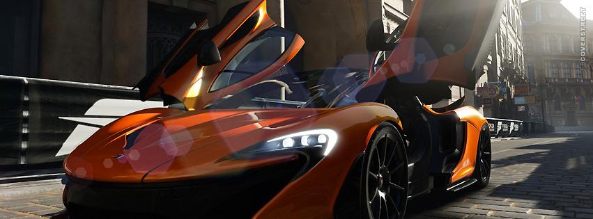 Forza Motorsport Car Facebook Cover