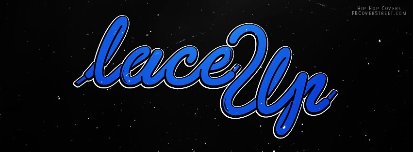 Lace Up Machine Gun Kelly Blue Facebook cover