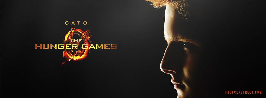 Cato Hunger Games Facebook cover