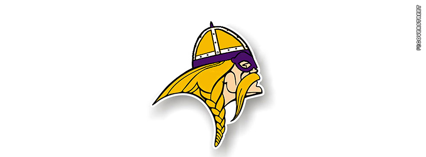 Minnesota Vikings Logo Simple NFL Facebook Cover