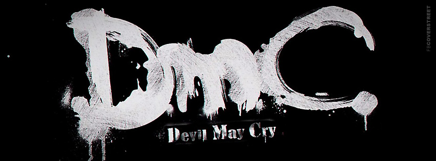 DMC Devil May Cry Logo Facebook cover