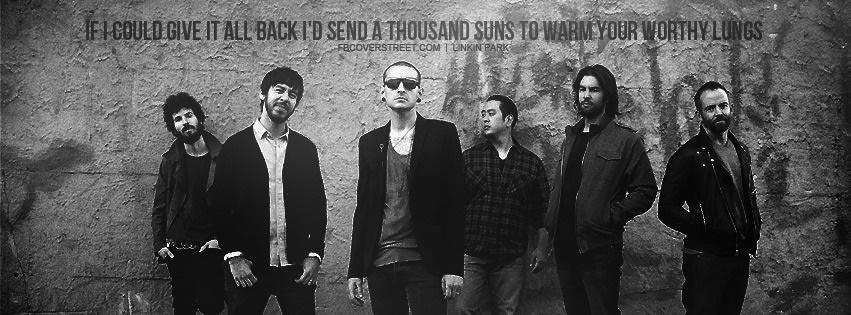 Linkin Park Hey Rosetta Quote Facebook Cover