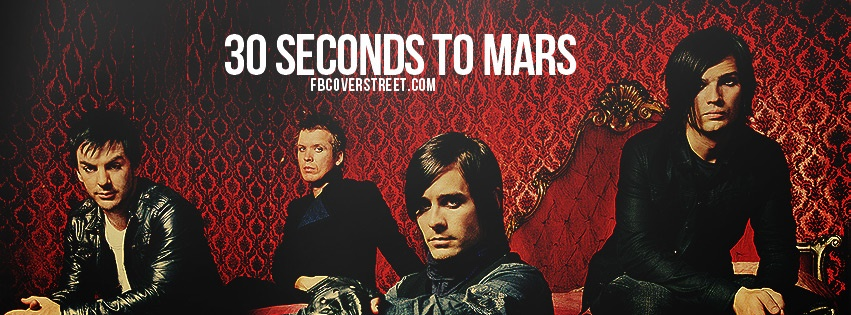 30 Seconds To Mars 2 Facebook cover