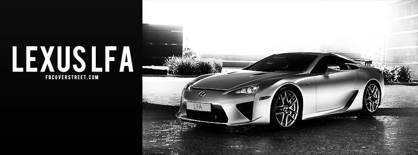 Lexus LFA Facebook Cover - FBCoverStreet.com
