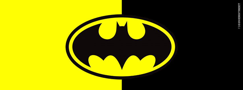 Batman Original Logo Facebook Cover